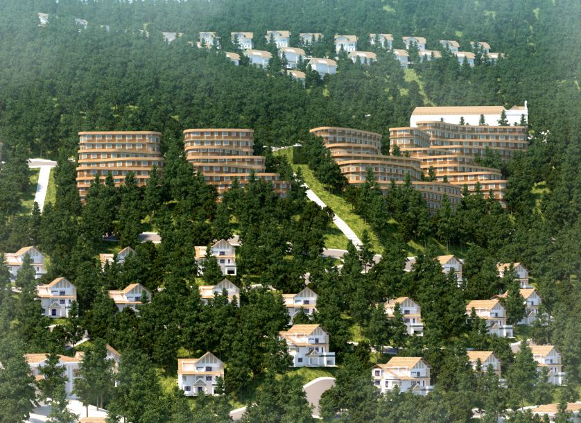 khu biệt thự sapa jade hill