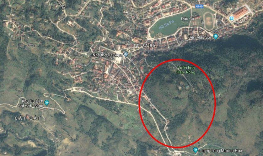 vị trí sapa jade hill