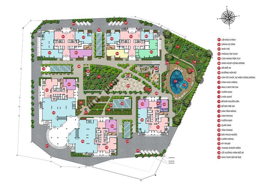 dự án iris garden