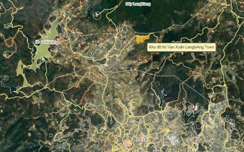 vị trí langbiang town