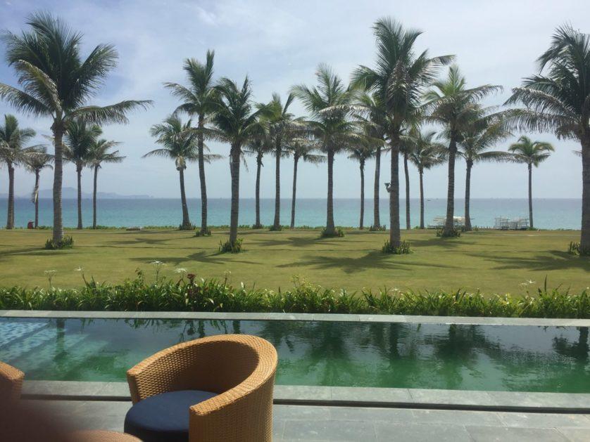 View Biển Biệt Thự Movenpick Cam Ranh